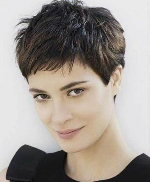 Fashionable Pixie Haircuts For Thin Hair Regarding Short Hairstyles For Fine Hair (View 6 of 20)
