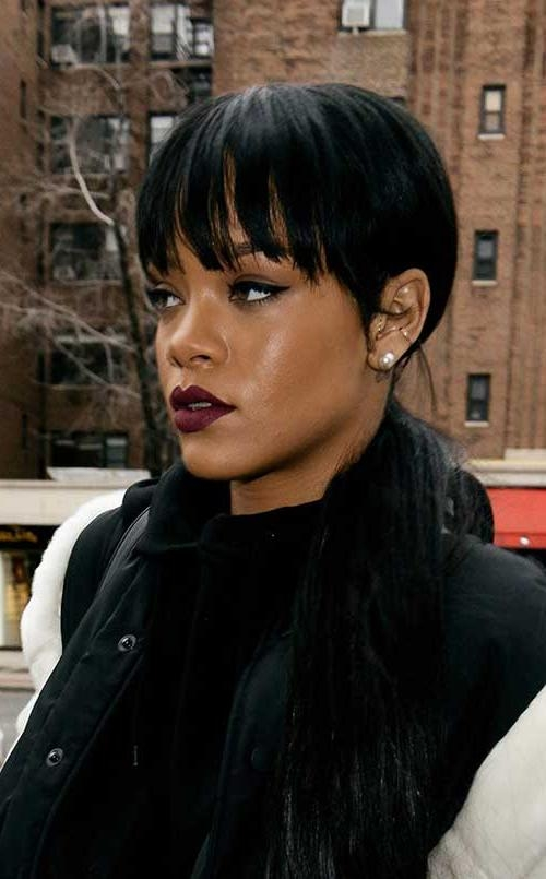 Fashionable Rihanna Pixie Haircuts Pertaining To 15 Best Rihanna Pixie Cuts (View 6 of 20)