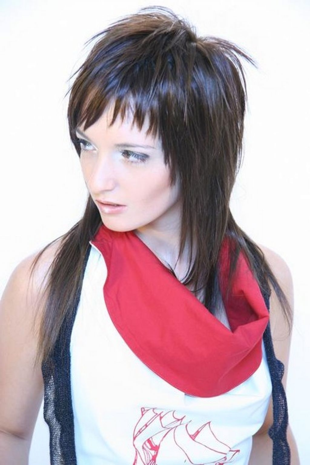 Fashionable Shaggy Emo Haircuts In Hairstyle In Medium Long Length Hairstyle (View 7 of 15)