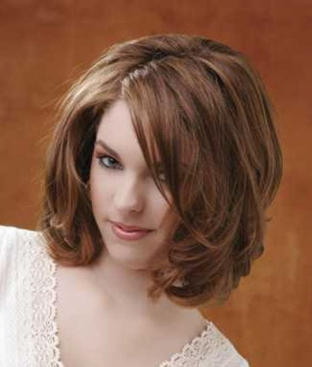 Fashionable Shaggy Girl Hairstyles For Medium Shaggy Hairstyle For Thick Hair Sweet Girls With Shoulder (View 5 of 15)