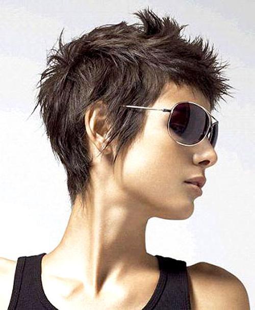 Fashionable Spiky Pixie Haircuts Regarding Short Spiky Pixie Haircut – Salon F (View 6 of 20)
