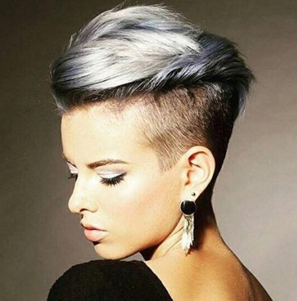 Fashionable Stylish Pixie Haircuts For Trendy Pixie Haircut – Short Hairstyle Ideas 2016 – Popular Haircuts (View 7 of 20)