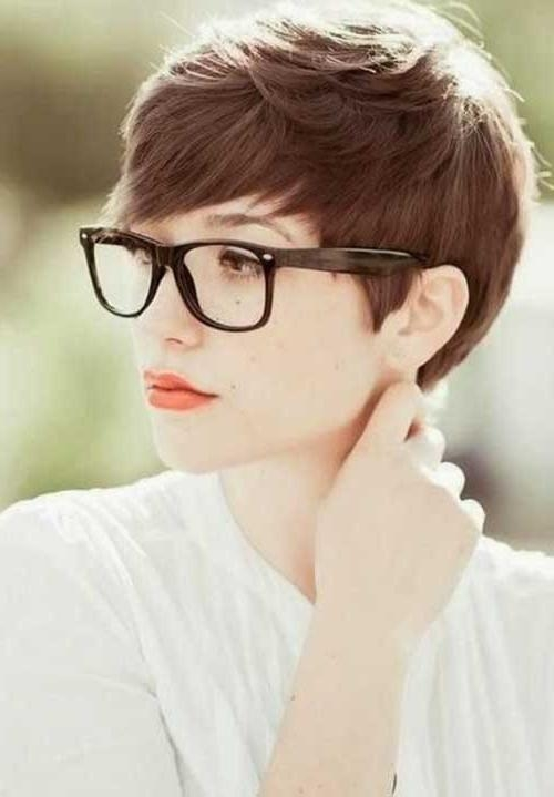 Fashionable Stylish Pixie Haircuts Pertaining To 25+ Best Pixie Hairstyles 2014 – (View 8 of 20)