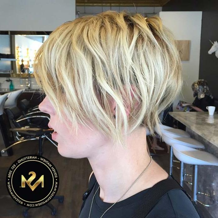 Fashionisers With Fashionable Long Pixie Haircuts For Thin Hair (View 9 of 20)