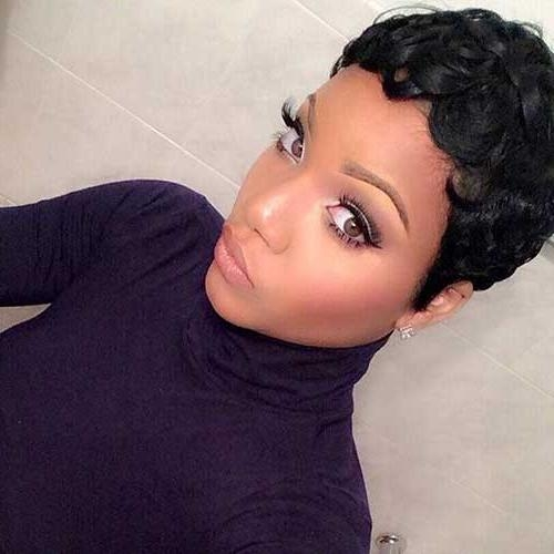 Favorite Black Pixie Haircuts With Regard To 20 Short Pixie Haircuts For Black Women (View 12 of 20)
