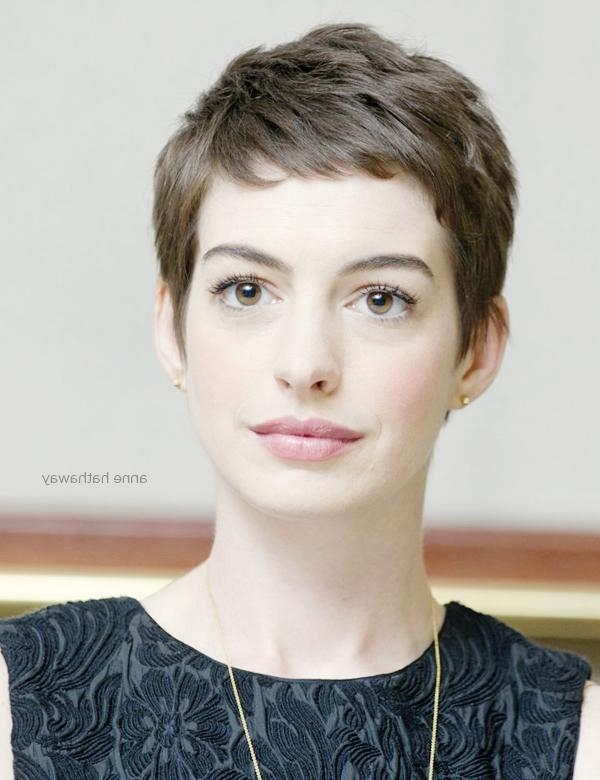 Favorite Celebrities Pixie Haircuts Inside Chic Look Celebrities Hairstyles In Pixie Cut – Be Modish (View 7 of 20)