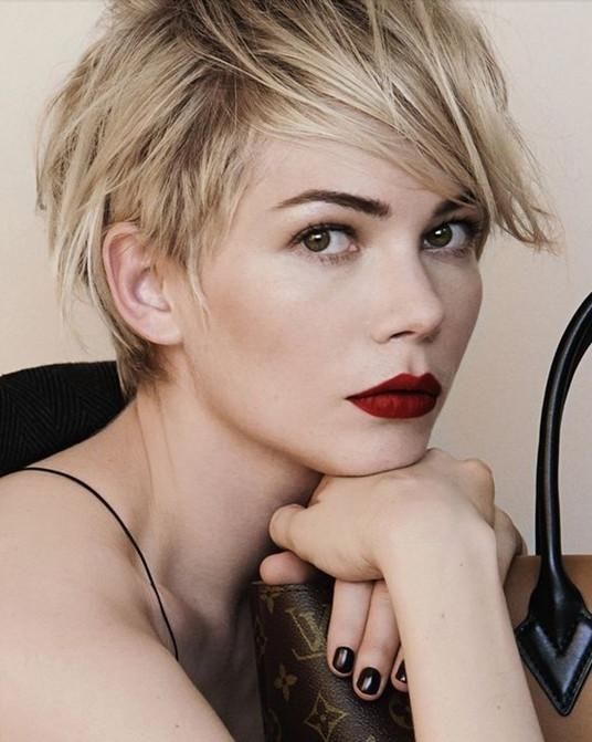 Favorite Celebrities Pixie Haircuts With Regard To 20 Chic Short Pixie Haircut Ideas For 2018 – Pretty Designs (View 14 of 20)