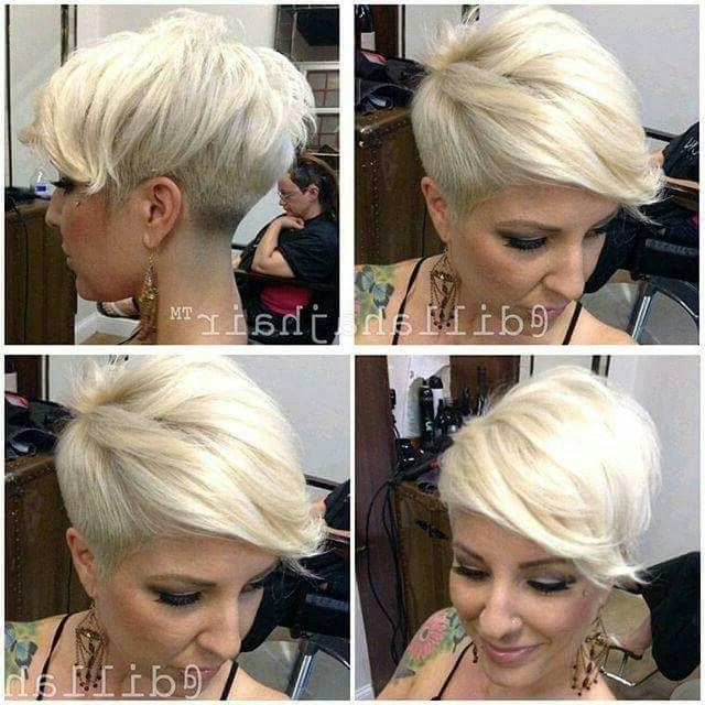 Favorite Edgy Pixie Haircuts For 30 Hottest Pixie Haircuts 2018 – Classic To Edgy Pixie Hairstyles (View 8 of 20)