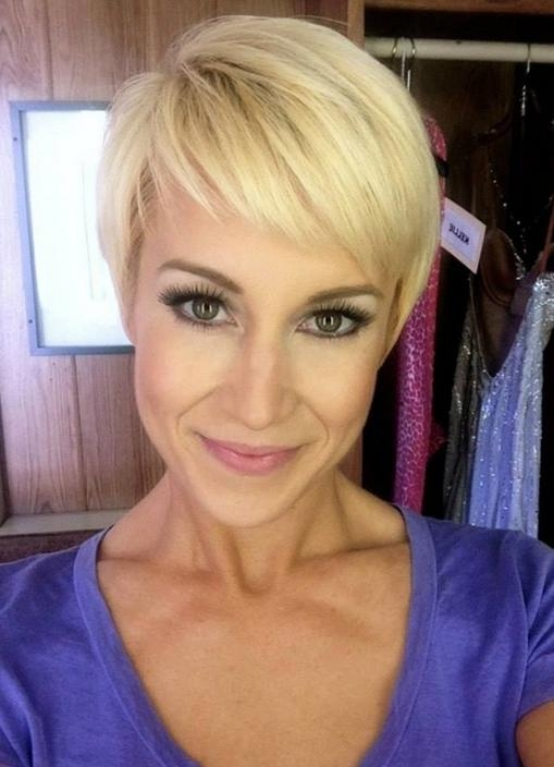 Favorite Kellie Pickler Pixie Haircuts In Simple Easy Daily Pixie Cut For 2014: Cute Pixie With Bangs (View 4 of 20)