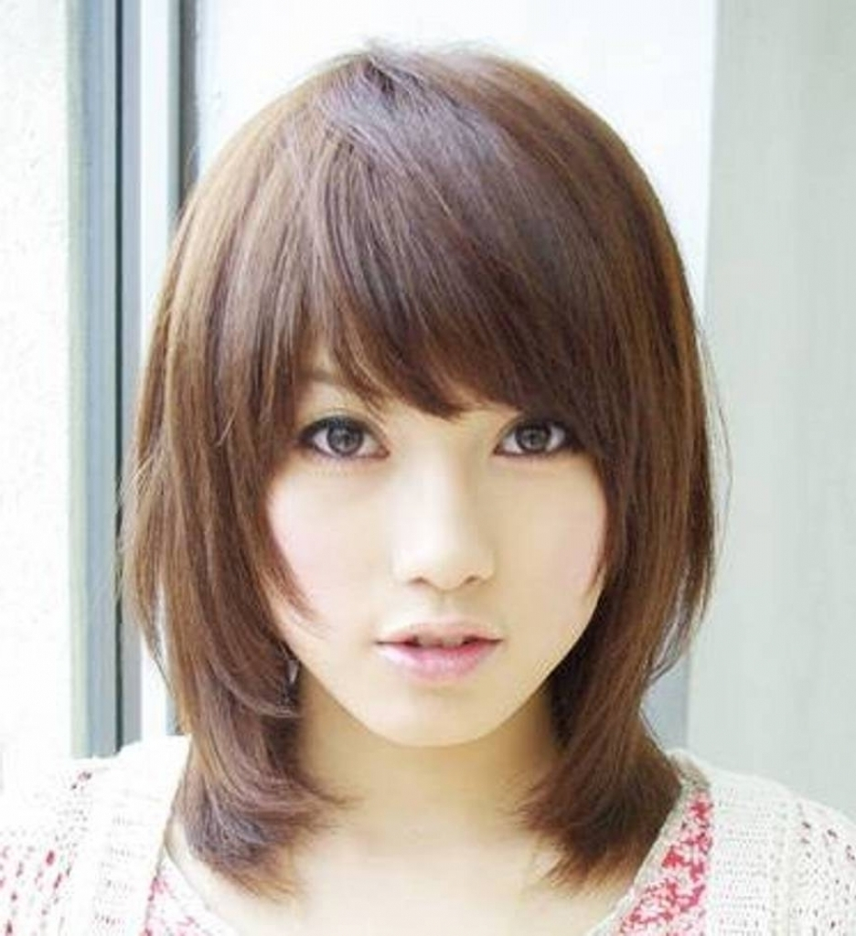 Favorite Korean Shaggy Hairstyles Regarding Medium Length Haircut For Girls Korean Shaggy Layered Haircut (View 5 of 15)