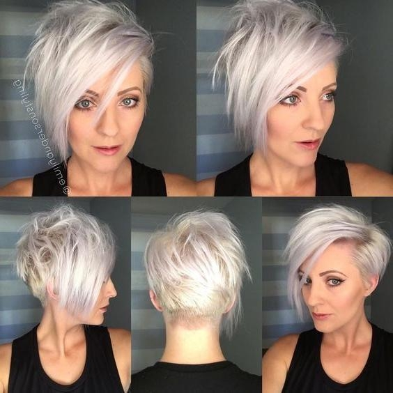 Favorite Long Pixie Haircuts For Fine Hair Inside Asymmetrical, Long Pixie Haircut – Short Hair Styles For Fine Hair (View 7 of 20)