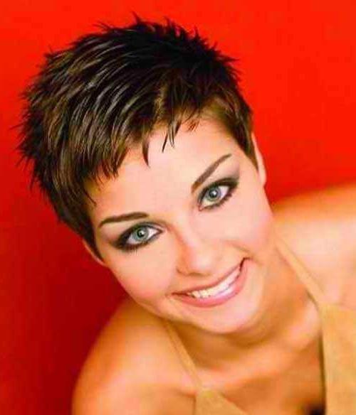 Favorite Pixie Haircuts For Fine Thin Hair With Short Pixie Haircuts For Fine Thin Hair  (View 6 of 20)