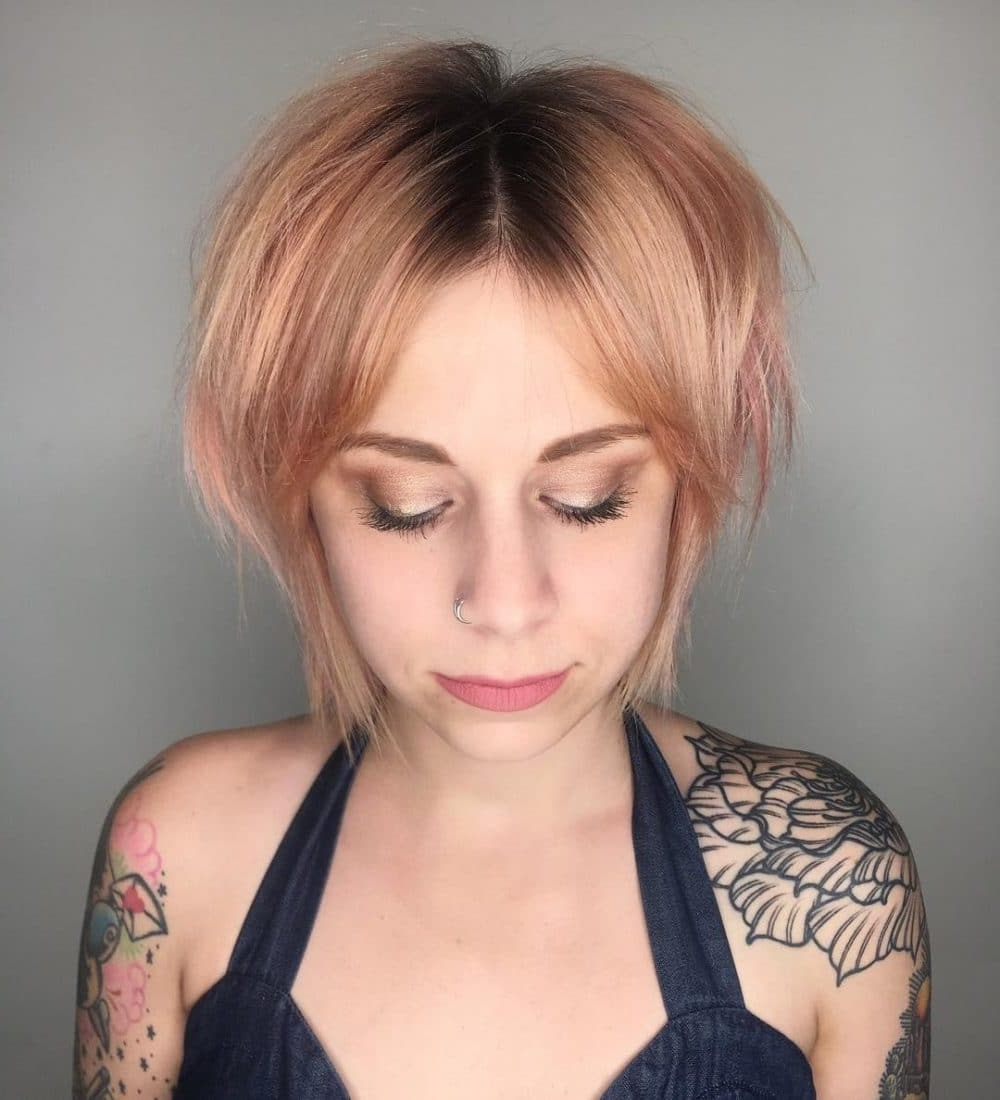 Favorite Shaggy Bob Hairstyles With Fringe In Shag Haircuts: 22 Totally Shagadelic Shag Haircuts To Try Today (View 5 of 15)