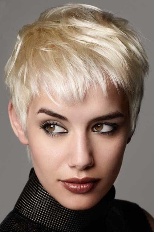 Favorite Unique Pixie Haircuts Intended For 25 Great Pixie Cuts (View 7 of 20)