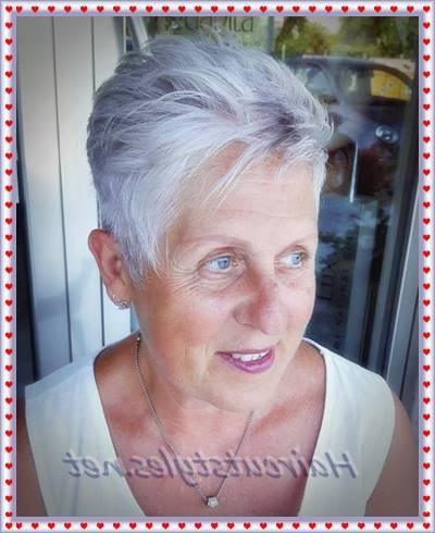 Feathered Pixie Haircut For Older Women Inside Most Up To Date Feathered Pixie Haircuts (View 12 of 20)