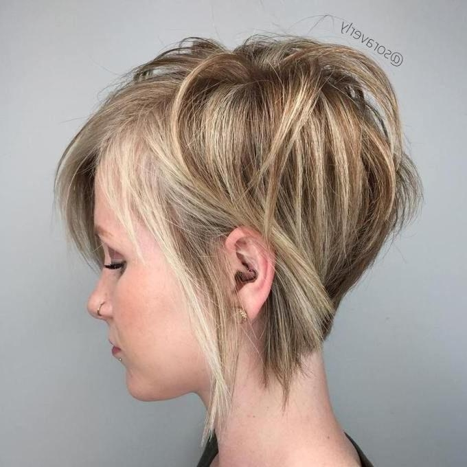 Fine Hair Cuts, Fine Intended For Famous Line Pixie Haircuts (View 11 of 20)