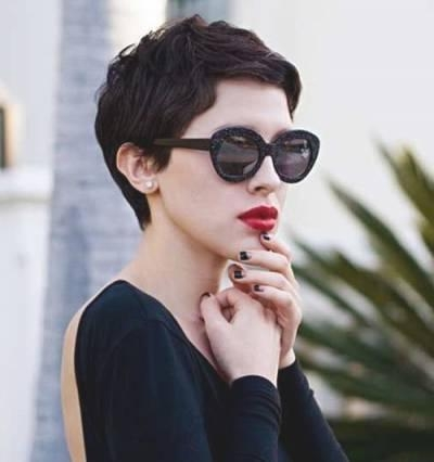 French Pixie Haircut 25+ Gorgeous Black Pixie Haircut Ideas On Throughout Fashionable French Pixie Haircuts (View 6 of 20)