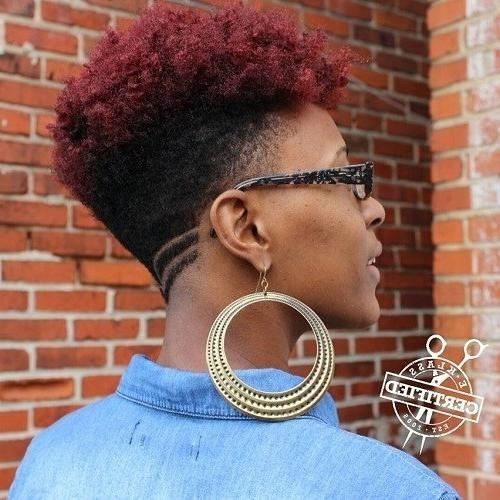 Gorgeous African American Natural Hairstyles – Popular Haircuts Within Trendy Pixie Haircuts For Natural Hair (Gallery 16 of 20)