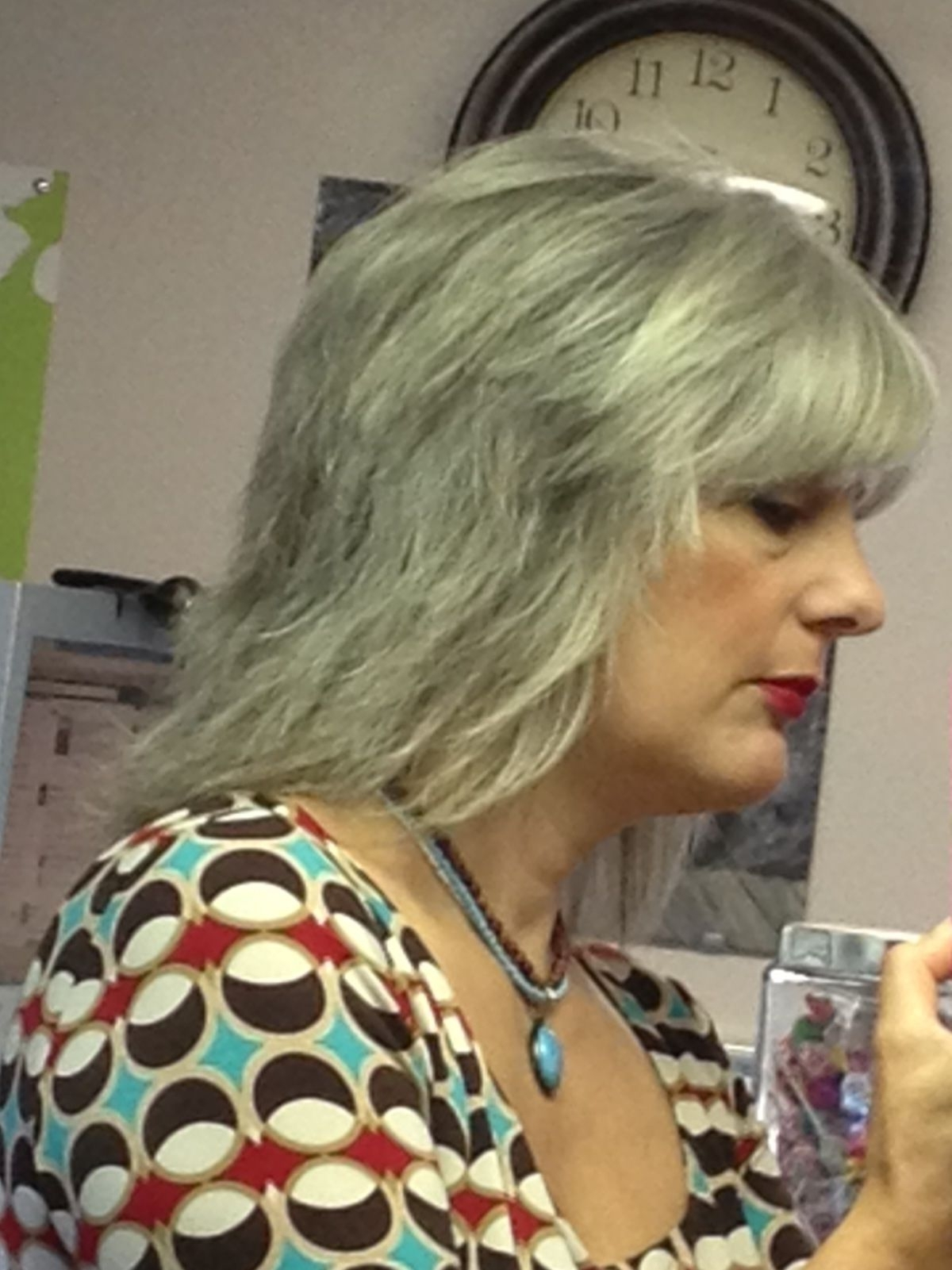 Gray Hair, Gray Haircut, Long Shag, Layers (Gallery 2 of 15)