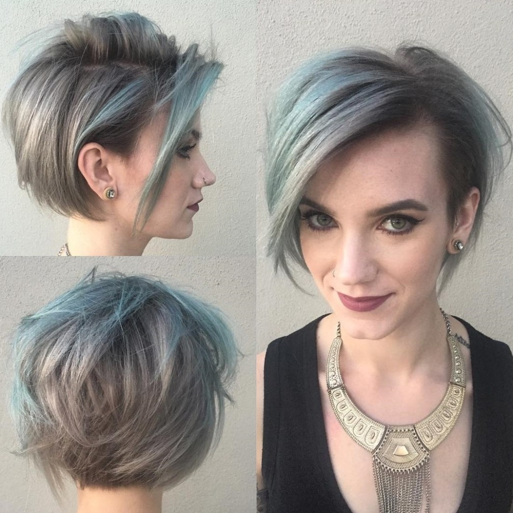 Grey Hairstyle With Regard To Recent Short Shaggy Gray Hairstyles (Gallery 1 of 15)