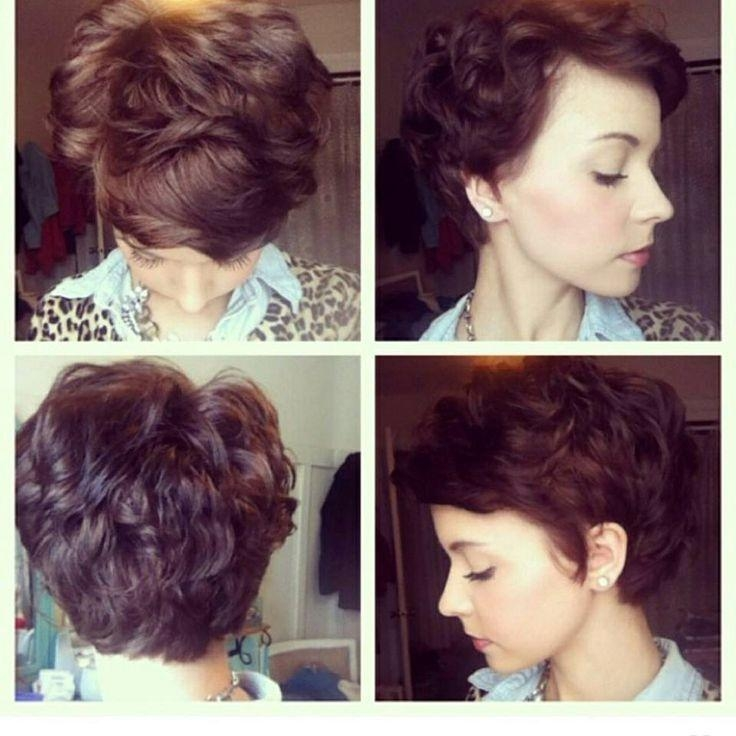 Growing Out A Pixie Haircuts – Find Hairstyle With Recent Long Pixie Haircuts For Curly Hair (View 10 of 20)