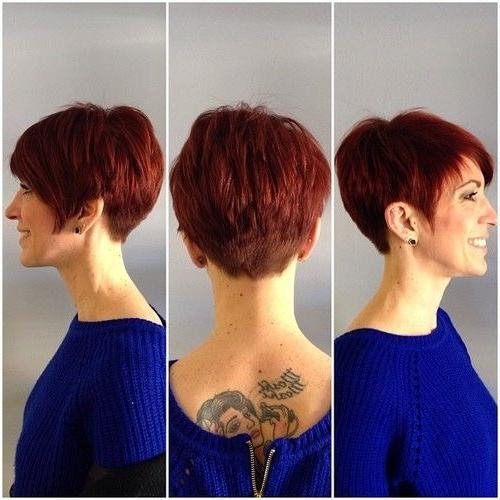 Hair Cut, Hairstyle Short Within Famous Short Asymmetrical Pixie Haircuts (View 11 of 20)