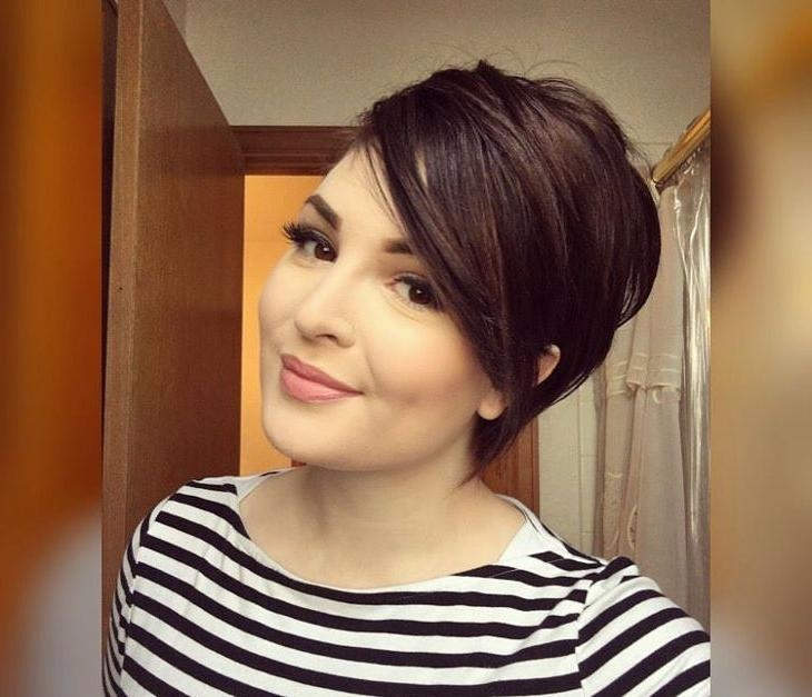 Hair Cut, Pixie Cuts And Pertaining To Preferred Pixie Haircuts With Long Side Swept Bangs (View 11 of 20)