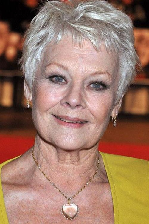 Hair Cut, Pixie Cuts Regarding Favorite Judi Dench Pixie Haircuts (View 11 of 20)