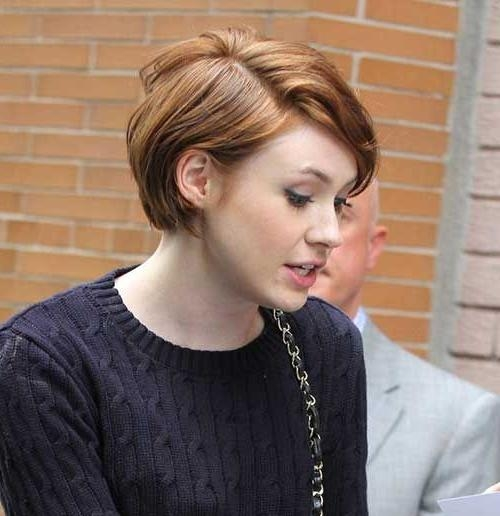 Hair Cut, Shorter Hair Inside Well Liked Pixie Haircuts For Round Face Shape (View 18 of 20)