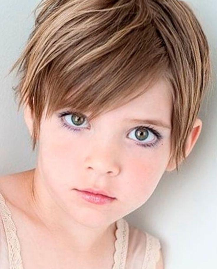 2018 Latest Pixie Haircuts For Little Girl