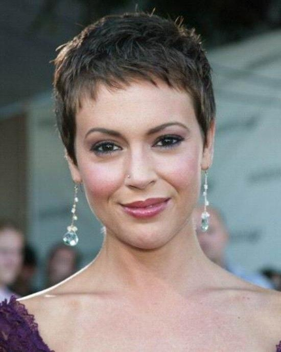 Hair Cut Within Trendy Very Short Pixie Haircuts For Women (View 7 of 20)