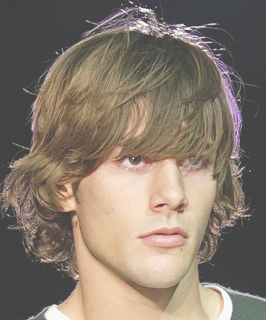 15 Shaggy Hairstyles For Men: 15 Best Of Mens Shaggy Hairstyles Thick Hair