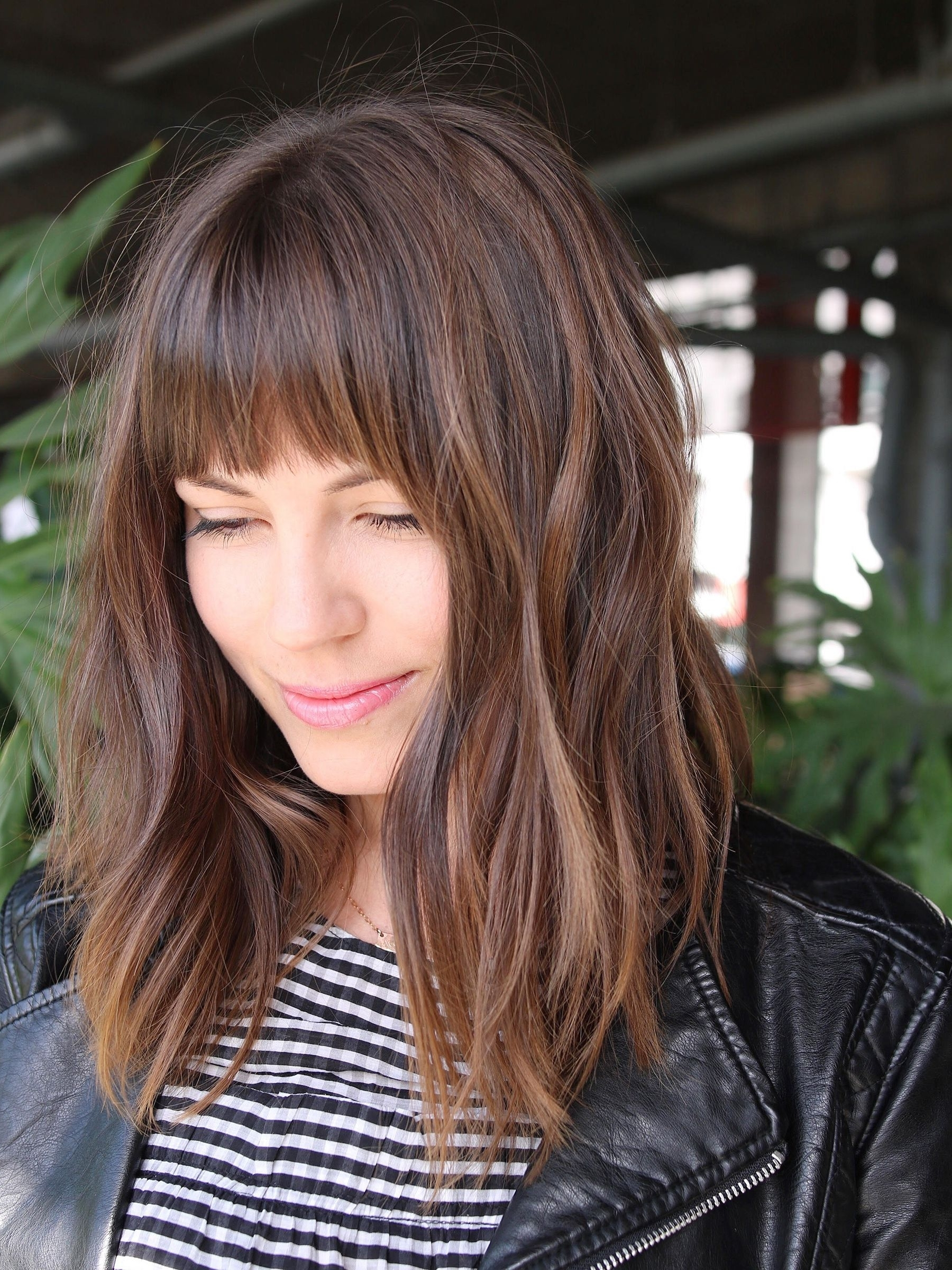 Hair Ideas Trends 2018 – Accessories Shag Blunt Bangs With Best And Newest Shaggy Bangs Long Hair (View 6 of 15)