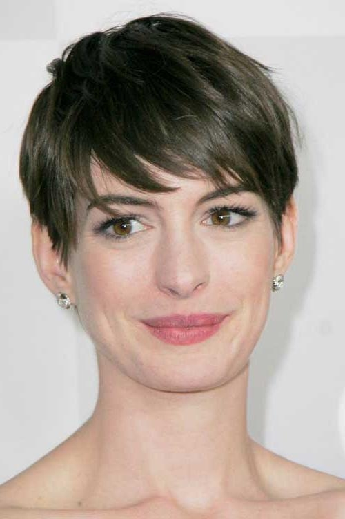 Hair Pertaining To Fashionable Short Pixie Haircuts For Oval Faces (View 12 of 20)
