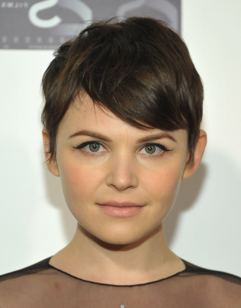 Haircut For Long Hair In Round Face Perfect Pixie Haircut For Regarding Favorite Shaggy Pixie Haircut For Round Face (View 7 of 15)