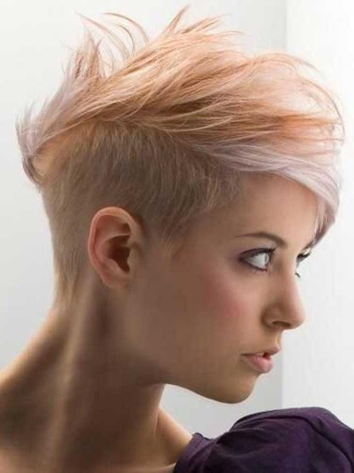 Haircuts, Hairstyles 2017 And In Preferred Undercut Pixie Haircuts (View 9 of 20)