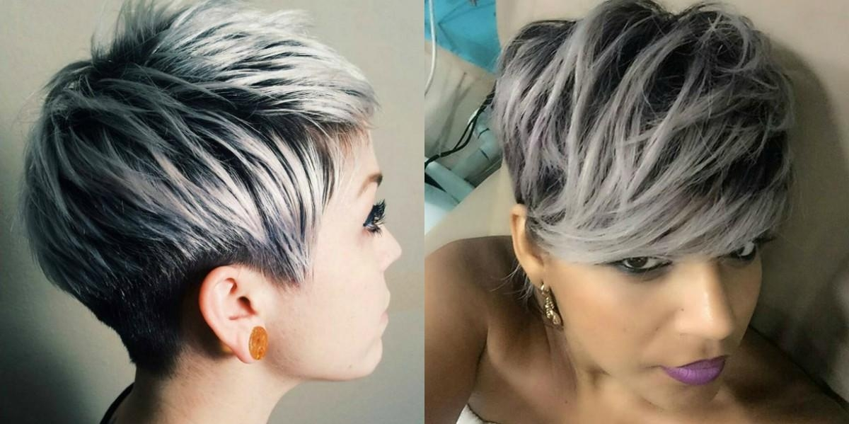 Hairdrome With Regard To 2018 Grey Pixie Haircuts (View 7 of 20)