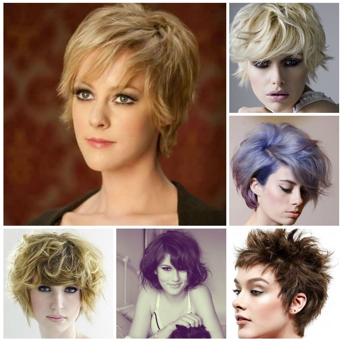 Featured Photo of Shaggy Messy Hairstyles