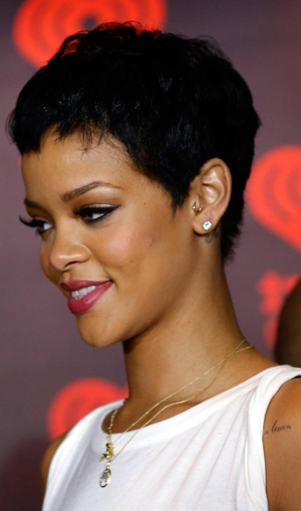 Hairstyles: Black Pixie Cut Hairstyles. Pixie. Cut. Hairstyles. Black (View 13 of 20)