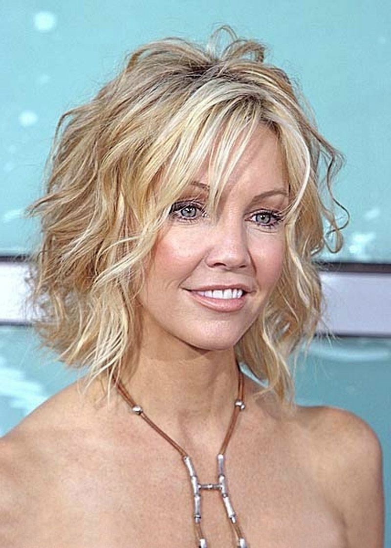 Hairstyles : Elegant Short Shaggy Hairstyles For Thick Hair With Regarding Most Up To Date Shaggy Hairstyles For Wavy Hair (View 6 of 15)
