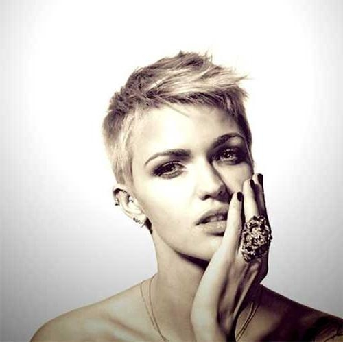 Hairstyles & Haircuts 2016 – 2017 Inside Current Funky Short Pixie Haircuts (View 8 of 20)