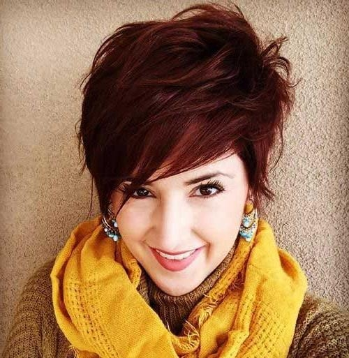Hairstyles & Haircuts 2016 For Most Up To Date Pixie Haircuts For Thick Hair (View 9 of 20)