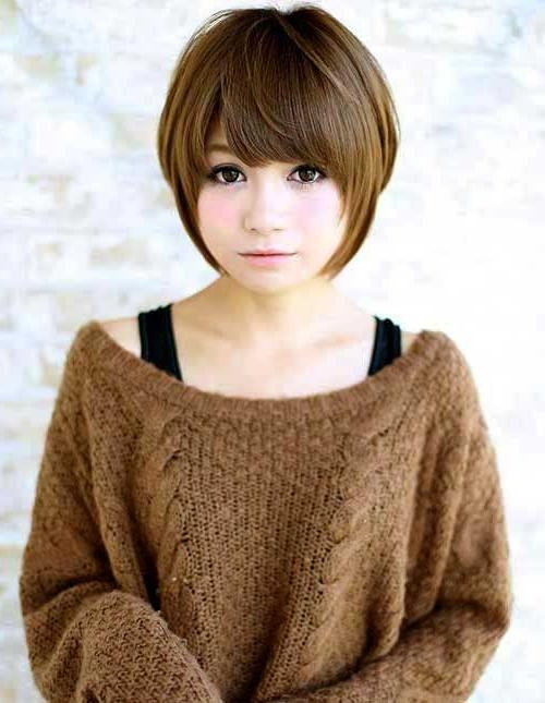 Hairstyles & Haircuts 2016 With Regard To Most Current Pixie Haircuts For Asian Round Face (View 13 of 20)