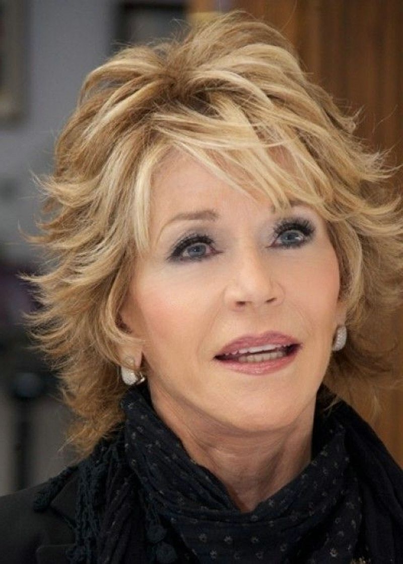 Hairstyles : Nice Short Shaggy Hairstyle Ideas For Women Over 40 For Popular Shaggy Hairstyles For Over  (View 5 of 15)