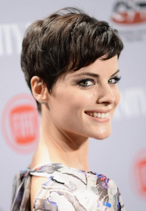 Jaimie Alexander New Short Pixie Haircut With Bangs (View 9 of 20)