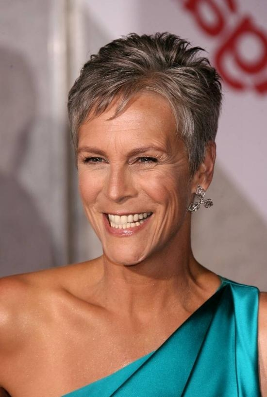 Jamie Lee Curtis – Mature Hairstyles For Popular Jamie Lee Curtis Pixie Haircuts (Gallery 11 of 20)