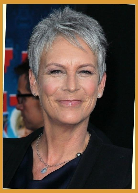 Jamie Lee Curtis' Pixie Haute Hairstyles For Women Over 50 With Regarding 2018 Jamie Lee Curtis Pixie Haircuts (View 13 of 20)
