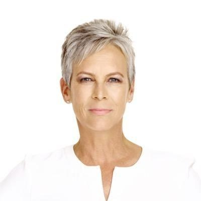 Jamie Lee Curtis. She Is Older And Has A Fantastic Haircut (View 14 of 20)
