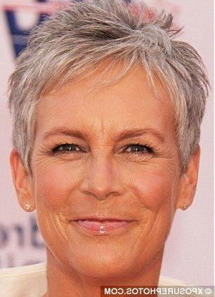Jamie Lee Curtis Within Most Recent Jamie Lee Curtis Pixie Haircuts (View 10 of 20)