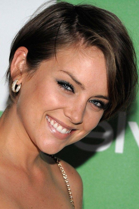 Jessica Stroup With Trendy Jessica Stroup Pixie Haircuts (View 7 of 20)